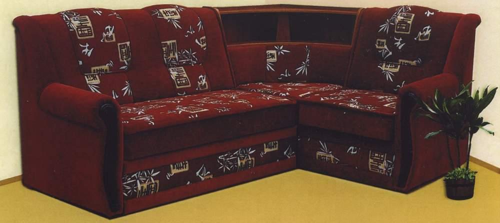 угловые диваны с баром каталог фото
